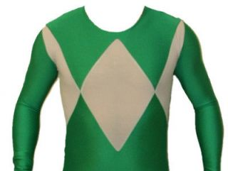Mighty Morphin Power Rangers Green Ranger Suit Costume v2   Size LARGE