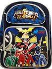 Power Rangers Ranger Samurai Large Backpack and Lunchbox Lunch Bag 2pc