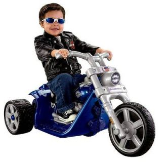 Power Wheels Harley Davidson Motorcycle Rocker 6 Volt Electric Ride On