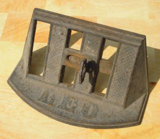 Antique Vent for Wood Stove, Pot Belly Stove, by Leo