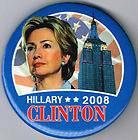 MAKE HISTORY HILLARY CLINTON PRESIDENT PIN PINBACK BUTTON 420