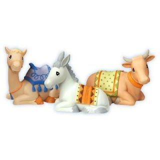 Collectible Precious Moments Mini Nativity Animal Set of 3 Brand New