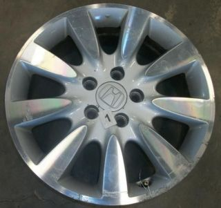 USED WHEEL 06 07 HONDA ACCORD WHEEL 17X6 1/2 ALLOY 9 SPOKE