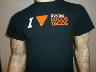 LOVE DORITOS LOCOS T SHIRT Nacho Chip Taco Bell Spicy Free USA Ship