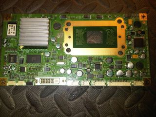 SAMSUNG HLS4676SX/XAA DMD BOARD NO CHIP BP41 00289A BP96 01670A BP94