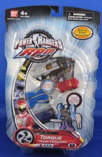 Power Rangers RPM Micro Megazord TORQUE Bonus Zord Ranger Sticker New