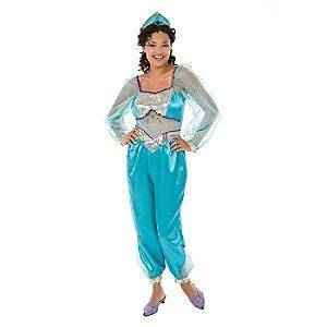 NWT WOMENS DISNEY STORE PRINCESS JASMINE COSTUME SZ M