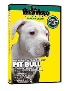 PIT BULL ~ Puppy ~ Dog Care & Training DVD New + BONUS