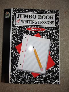 Jumbo Book of Writing Lessons by Marjorie Belshaw (1997, Paperback