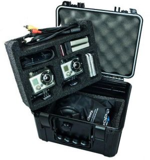 Go Professional Pro Watertight Rugged Case for Professional Cameras