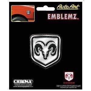 Dodge Rams Head Mopar Emblem 2 1/8 x 2 1/4