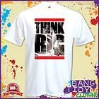 Smalls Notorious Big Think BIG Inspired Hip Hop Rap Music Mens T Shirt