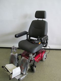 RASCAL 320 POWER WHEEL CHAIR RED 300LB ELECTRIC BATTERY OPERATED WHEEL