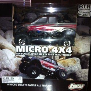 Losi 1/24 Micro 4x4 Trail Trekker RC Rock Crawler RTR LOSB0238