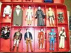 STAR WARS LOT 18 VINTAGE ACTION FIGURES LEIA LUKE EMPEROR EMPIRE