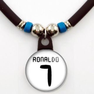 Cristiano Ronaldo Real Madrid #7 Jersey Necklace, NEW