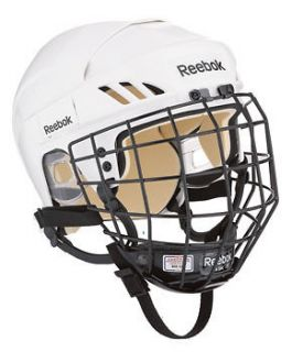 Reebok 4K Hockey Helmet With Cage, Available in Black