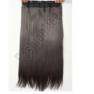 dark brown clip in hair extensions in Womens Hair Extensions