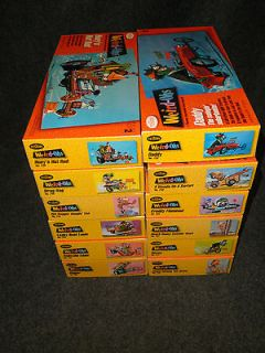 Testors Weird ohs model kit pack (12) different kits Daddy,Davey,and