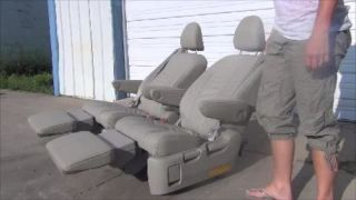 CAPTAIN CHAIR BUCKET SEATS LEATHER RECLINER BOAT BUS