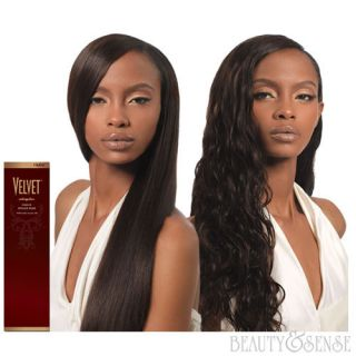 VELVET VIRGIN INDIAN REMY HUMAN WEAVE HAIR BY OUTRE