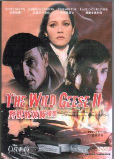 The Wild Geese 2 II DVD R0 Scott Glenn Barbara Carrera Edward Fox