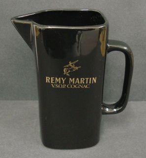 REMY MARTIN VSOP COGNAC WATER JUG PITCHER V S O P USED