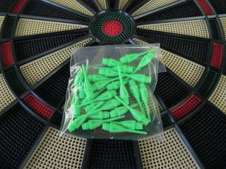 NEW GREEN Dimpled DART TIPS for All Electronic Dart Boards 1/4 Thread