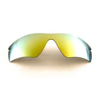 Polarized 24K Gold Replacement Lenses For Oakley Radar Path Sunglasses
