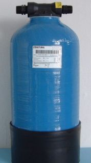 DI Resin Vessel 817, 11.4 L Empty or Filled for Window Cleaning, Bio