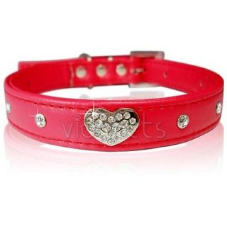 pink leather dog collars in Leather Collars