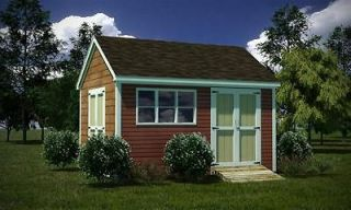 Gable Roof Storage Shed Plans Step By Step How To Build Guide