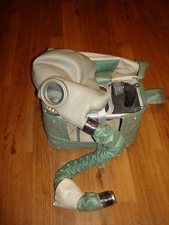 Russian Rebreather Gas Mask IP 4 RARE soviet cold war period original