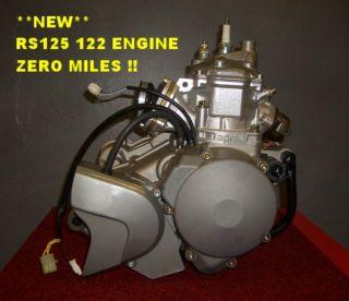 APRILIA RS125 ROTAX 122 COMPLETE ENGINE **BRAND NEW** ZERO MILES