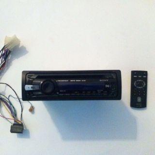 Sony Xplod CDX GT35U Fm/Am Compact Disc Player Nice