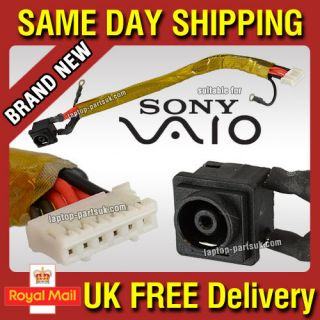 SONY Vaio PCG 5K1L, PCG  5K1L DC Power Jack Wire Cable Harness Socket