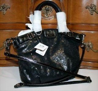 coach black sequin handbag in Handbags & Purses
