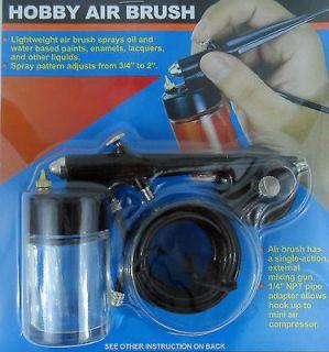 Airbrush Spray Gun Kit Hobby Paint Starter Tool Model Car Spray Tan