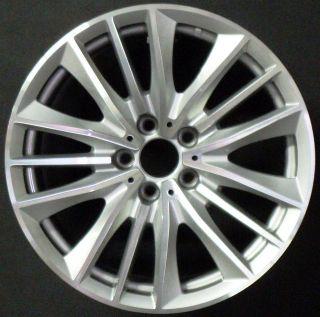 2011 BMW 528i 535i 550i 19 5 Double Spoke Front Factory OEM Wheel Rim