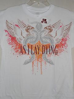 NEW AS I LAY DYING BAND / CONCERT / MUSIC SHIRT LARGE