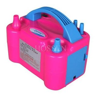 220V 600W Double Pump Balloon Inflator Electric Automatic Balloon Pump