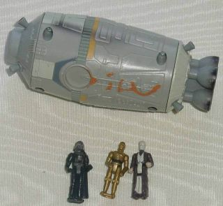 STAR WARS MICRO MACHINES LOOSE BATTLE PACKS #7 ESCAPE POD WITH STAND