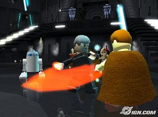 LEGO Star Wars The Video Game Nintendo GameCube, 2005