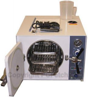20L Autoclave Steam Sterilizer Dental Tattoo Medical