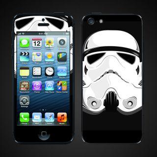 iphone 5 vinyl Skins Kit   Storm trooper Star Wars Clone Wars Helmet