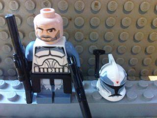 Lego Star Wars COMMANDER WOLFFE Minifigure
