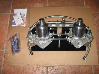 New SU 1 3/4 Carb Carburetor Conversion with Intake Manifold for MGA