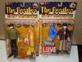 Mcfarlanes Yellow Submarine Lot 2 Beatles Figures Paul McCartny
