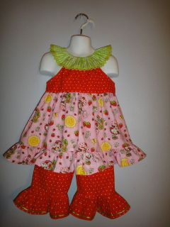New strawberry shortcake pageant casual wear 24m/2T OOC