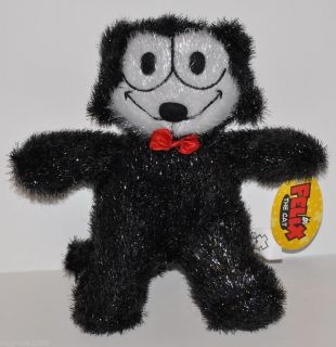 NEW FELIX THE CAT PLUSH DOLL 8 HARD TO FIND FREE SHIP